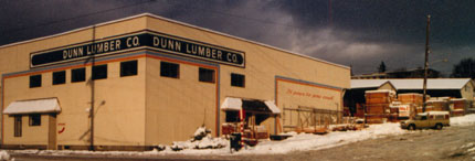 Dunn Lumber Headquarters, Depression Era