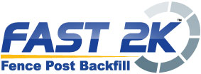 Fast2K Fence Post Backfill products at Dunn Lumber