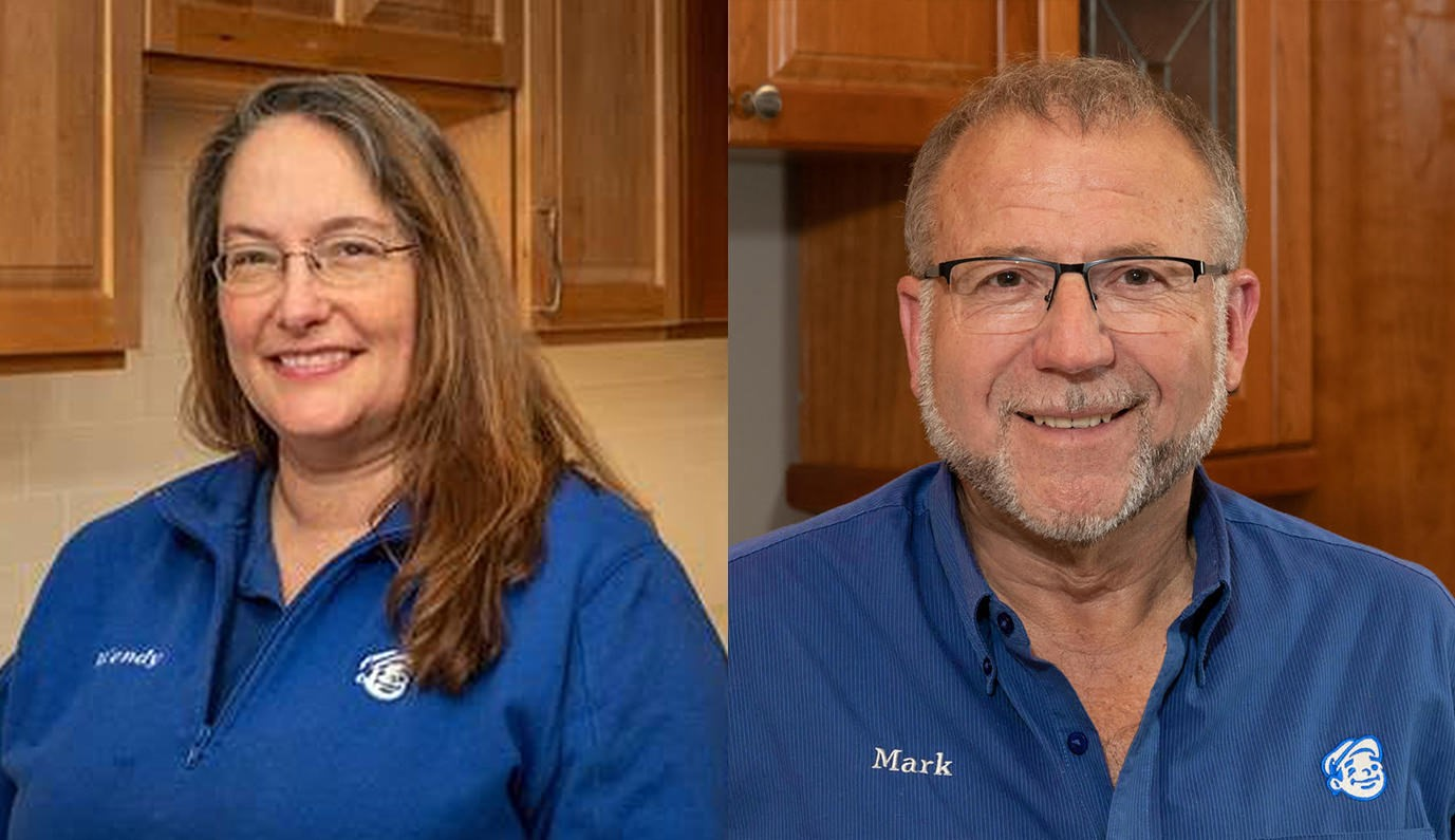 Wendy Prather and Mark Holmberg- Cabinet Specialists
